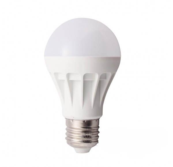 Лампа светодиодная NlcoЛампы<br>Тип лампы: светодиодная, Форма лампы: шар, Цвет колбы: белая, Тип цоколя: Е27, Напряжение: 220, Мощность: 9, Цветовая температура: 4000, Цвет свечения: нейтральный<br>