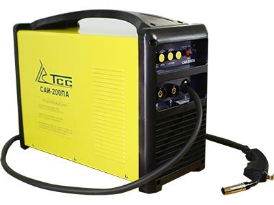 Сварочный полуавтомат ТСССварочное оборудование<br>Макс. сварочный ток: 200,<br>Мощность: 8000,<br>Мощность полная: 8000,<br>Напряжение: 220,<br>Мин. входное напряжение: 198,<br>Тип сварочного аппарата: инверторный,<br>Тип сварки: полуавтоматическая (MIG/MAG),<br>Инверторная технология: есть,<br>Размеры: 540х255х415;<br>