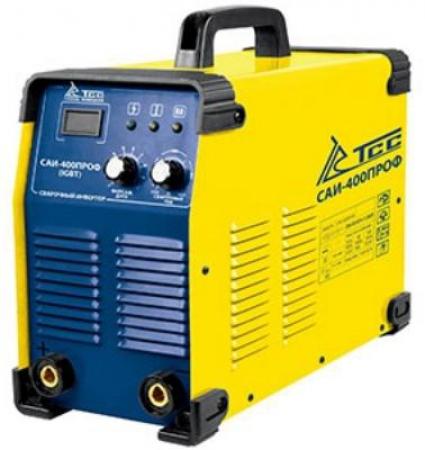 Сварочный аппарат ТСССварочные аппараты<br>Макс. сварочный ток: 400, Мощность: 18000, Напряжение: 380, Мин. входное напряжение: 342, Тип сварочного аппарата: инверторный, Тип сварки: дуговая (электродом, MMA), Инверторная технология: есть, Размеры: 540х230х350<br>