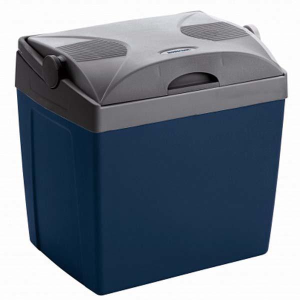 Холодильник MobicoolАвтомобильные холодильники<br>Мощность: 48,<br>Объем: 26,<br>Тип: холодильник,<br>Тип питания: 12В,<br>Температура: 5,<br>Материал: пластик,<br>Цвет: синий,<br>Размеры: 396х296х395<br>