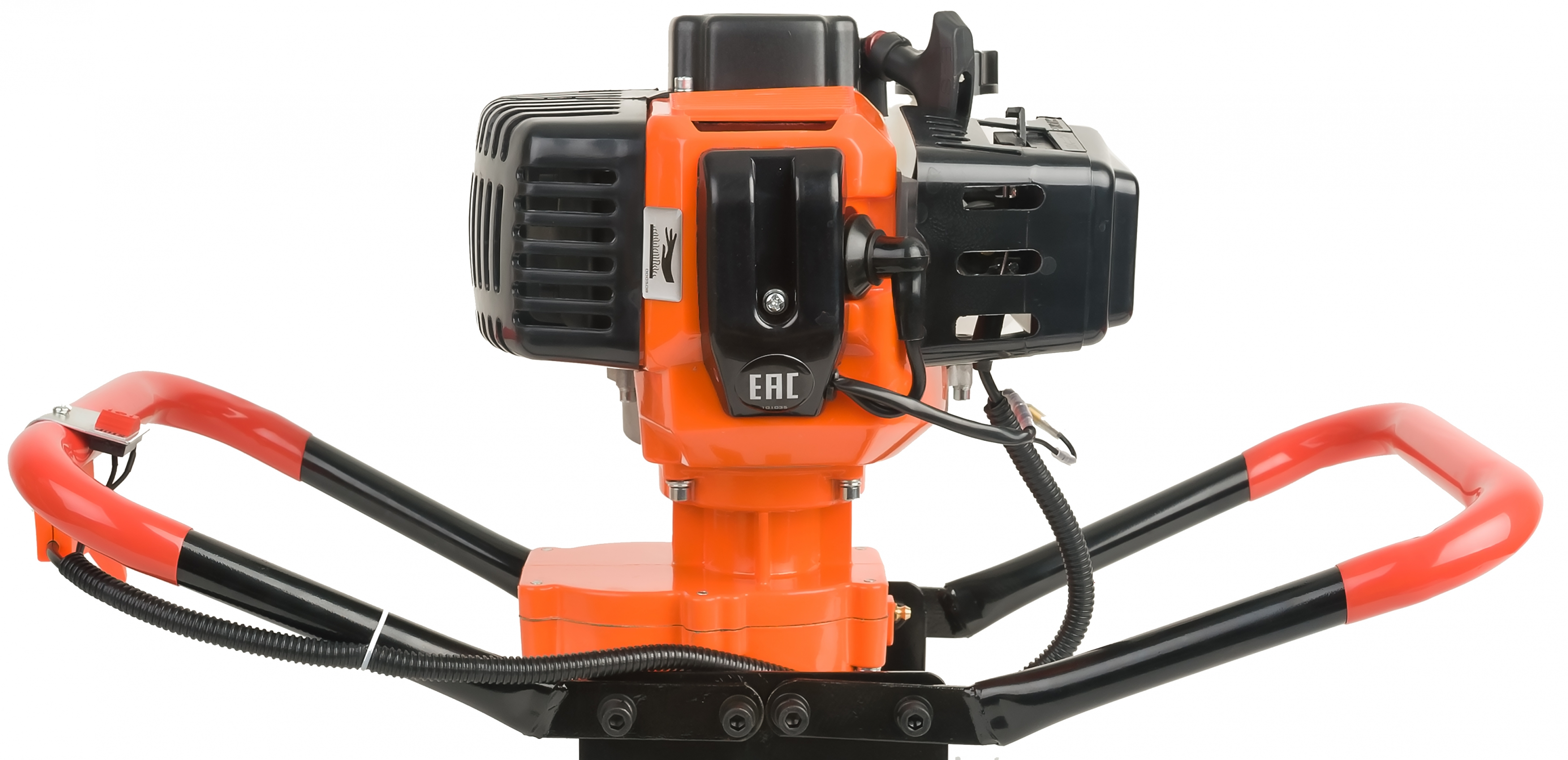 Мотобур CarverМотобуры<br>Мощность: 2200,<br>Мощность (лс): 3,<br>Рабочий объем: 52,<br>Обороты: 190,<br>Макс. диаметр бура: 300,<br>Тип патрона: 20 мм,<br>Количество операторов: два,<br>Назначение: для грунта и льда,<br>Бак: 0.8,<br>Вес нетто: 6.8<br>
