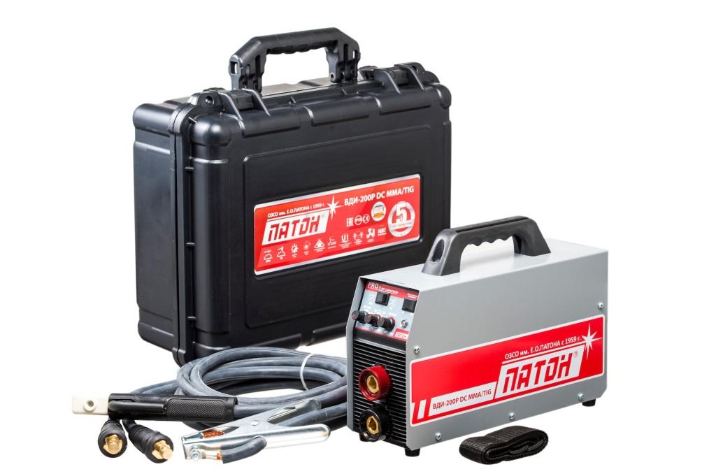 Сварочный аппарат Патон Вди-200p dc mma/tig