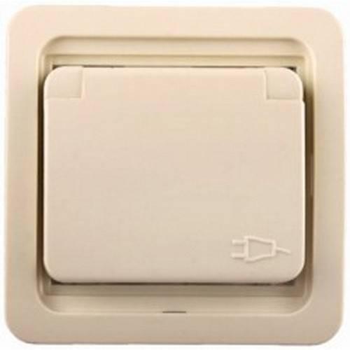 Розетка СВЕТОЗАРЭлектроустановочные изделия<br>Тип изделия: розетка,<br>Способ монтажа: скрытой установки,<br>Цвет: бежевый,<br>Заземление: есть,<br>Сила тока: 16,<br>Наличие крышки: есть,<br>Количество гнезд: 1,<br>Выходная мощность максимально: 3500,<br>Напряжение: 220<br>