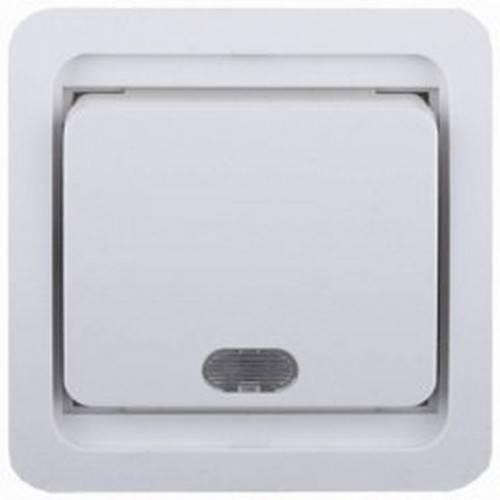 Выключатель СВЕТОЗАРЭлектроустановочные изделия<br>Тип изделия: выключатель,<br>Способ монтажа: скрытой установки,<br>Цвет: белый,<br>Сила тока: 10,<br>Количество клавиш: 1,<br>Выходная мощность максимально: 2200,<br>Напряжение: 220,<br>Коллекция: гамма<br>