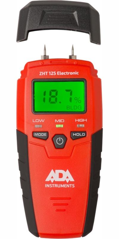 Фото 3/3 ZHT 125 Electronic, Измеритель влажности древесины и стройматериалов контактный