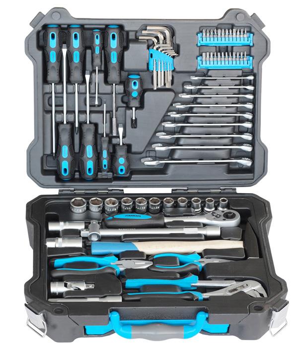 Универсальный набор инструментов OverhaulНаборы инструментов<br>Назначение: универсальный, Количество предметов в наборе: 73, Тип набора: инструменты в наборе, Класс: проф.<br>