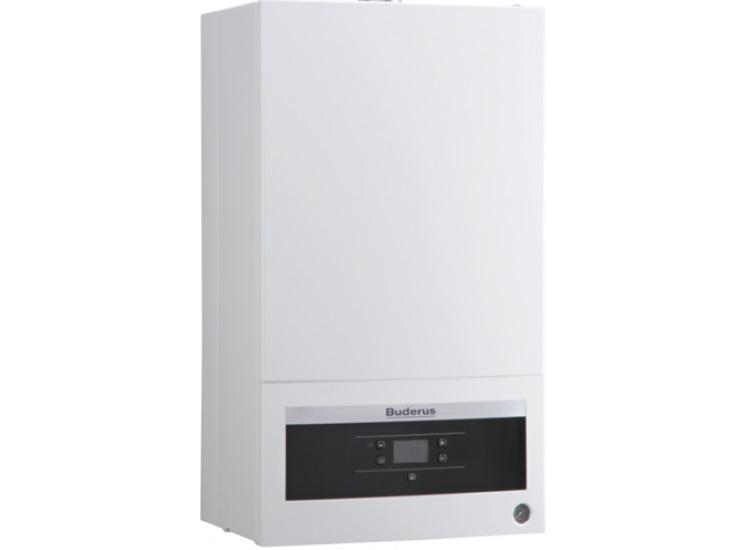 Котел BuderusГазовые котлы<br>Мощность: 18000, Производительность водонагревателя: 8.6, Тип установки: настенный, Камера сгорания: закрытая, Температура: 60, Высота: 700, Ширина: 400, Длина (мм): 300, КПД: 90, На сжиженном газе: есть<br>