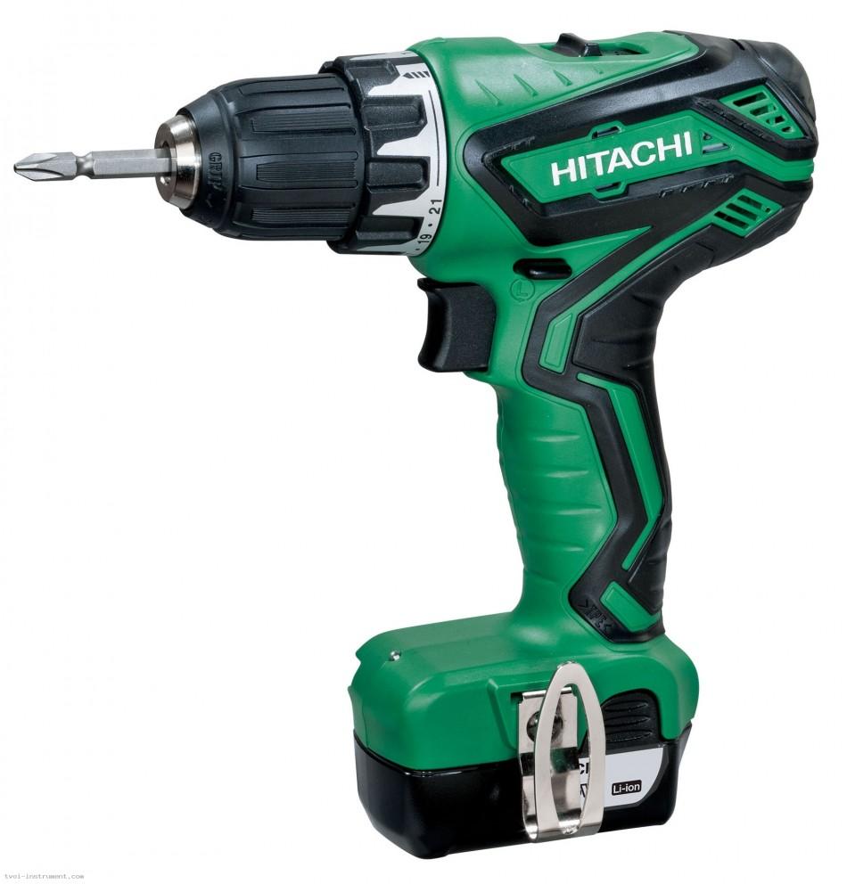 Дрель аккумуляторная Hitachi Ds10dal