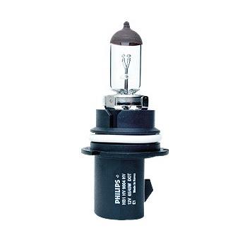 Лампа автомобильная PhilipsЛампы автомобильные<br>Тип лампы: галогенная,<br>Типоразмер: HB1,<br>Тип цоколя: P29t,<br>Мощность: 65,<br>Напряжение: 12<br>