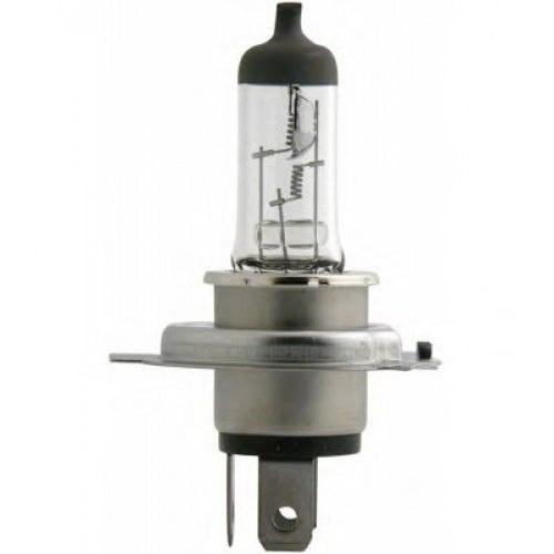 Лампа автомобильная PhilipsЛампы автомобильные<br>Тип лампы: галогенная, Типоразмер: H4, Тип цоколя: P43t, Мощность: 75, Напряжение: 24<br>