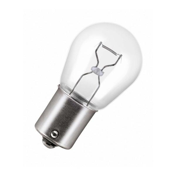 Лампа автомобильная PhilipsЛампы автомобильные<br>Тип лампы: накаливания, Типоразмер: P21/5W, Тип цоколя: BАY15d, Мощность: 21, Напряжение: 24<br>