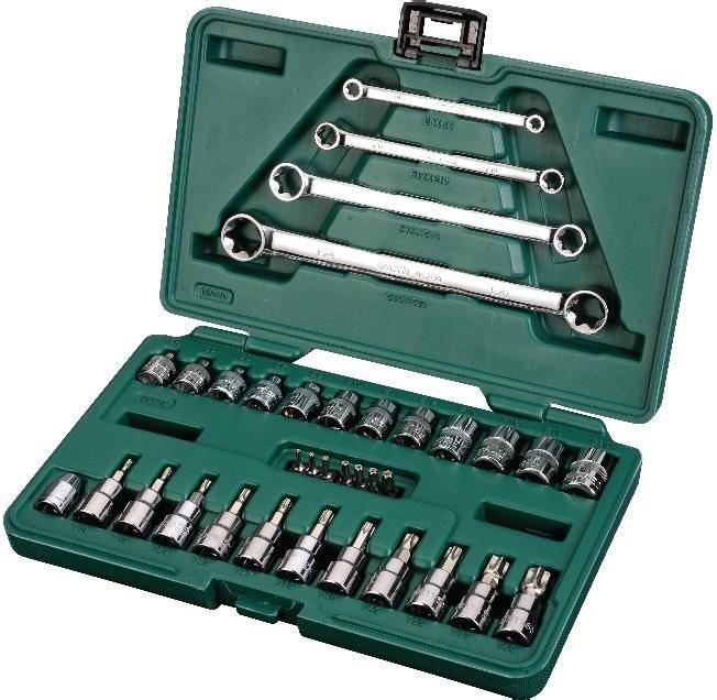 Универсальный набор инструментов Sata