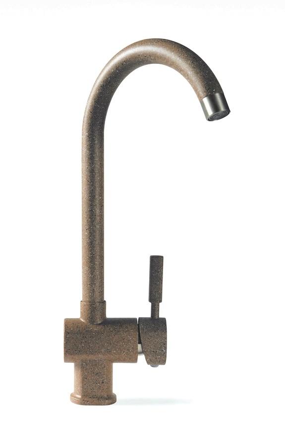 Смеситель для кухни HarteСмесители<br>Назначение смесителя: для кухонной мойки,<br>Тип управления смесителя: однорычажный,<br>Цвет покрытия: коричневый,<br>Стиль смесителя: модерн,<br>Монтаж смесителя: горизонтальный,<br>Тип установки смесителя: на мойку (раковину),<br>Материал смесителя: латунь,<br>Излив: традиционный,<br>Родина бренда: Германия,<br>Длина (мм): 170,<br>Высота: 345<br>