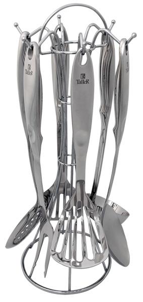 Кухонный набор TallerАксессуары кухонные<br>Тип: набор,<br>Материал: нерж.сталь<br>