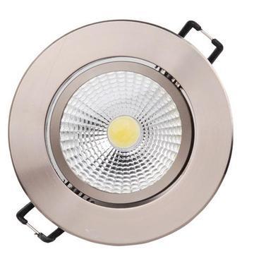 Светильник Horoz electricСветильники встраиваемые<br>Стиль светильника: классика,<br>Форма светильника: круг,<br>Тип лампы: светодиодная,<br>Мощность: 5,<br>Патрон: LED,<br>Цвет арматуры: никель<br>