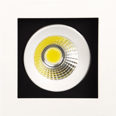 Светильник Horoz electricСветильники встраиваемые<br>Стиль светильника: современный, Форма светильника: квадрат, Тип лампы: светодиодная, Мощность: 8, Патрон: LED, Цвет арматуры: белый<br>
