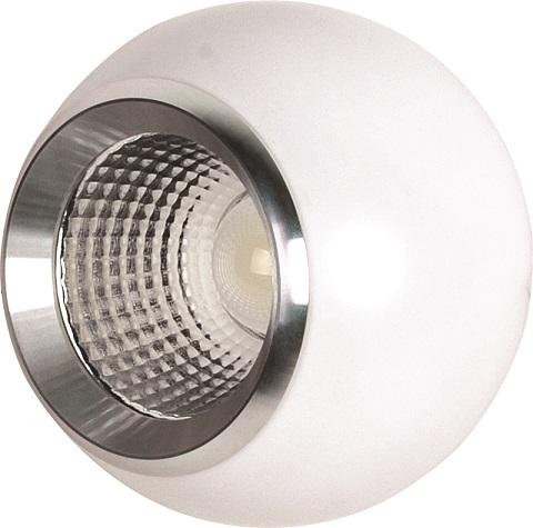 Светильник Horoz electricСветильники встраиваемые<br>Стиль светильника: современный, Форма светильника: круг, Тип лампы: светодиодная, Мощность: 10, Патрон: LED, Цвет арматуры: белый<br>