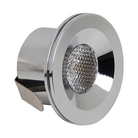 Светильник Horoz electricСветильники встраиваемые<br>Стиль светильника: современный,<br>Форма светильника: круг,<br>Тип лампы: светодиодная,<br>Мощность: 3,<br>Патрон: LED,<br>Цвет арматуры: хром<br>