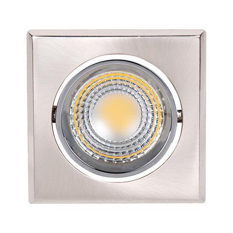 Светильник Horoz electric - Horoz electricСветильники встраиваемые<br>Стиль светильника: современный,<br>Форма светильника: квадрат,<br>Тип лампы: светодиодная,<br>Мощность: 5,<br>Патрон: LED<br>