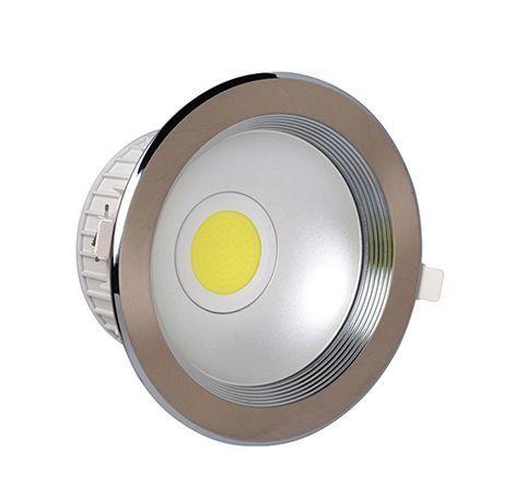 Светильник Horoz electricСветильники встраиваемые<br>Стиль светильника: современный,<br>Форма светильника: круг,<br>Тип лампы: светодиодная,<br>Мощность: 20,<br>Патрон: LED,<br>Цвет арматуры: хром<br>