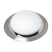 Светильник Horoz electricСветильники настенно-потолочные<br>Мощность: 60, Количество ламп: 1, Назначение светильника: для комнаты, Стиль светильника: классика, Тип лампы: накаливания, Патрон: Е27, Цвет арматуры: хром<br>