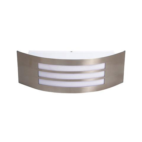 Светильник уличный Horoz electricСветильники уличные<br>Мощность: 14, Тип установки: настенный, Стиль светильника: модерн, Тип лампы: накаливания и галогенные, Патрон: Е27, Цвет арматуры: хром, Ширина: 100, Высота: 315<br>
