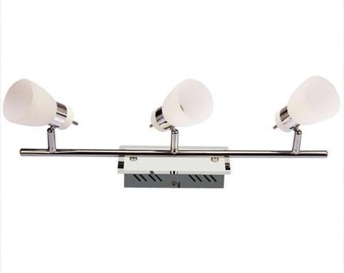 Спот Horoz electricСпоты<br>Тип: спот,<br>Стиль светильника: модерн,<br>Материал светильника: металл, стекло,<br>Количество ламп: 3,<br>Тип лампы: светодиодная,<br>Мощность: 4,<br>Патрон: LED,<br>Цвет арматуры: хром<br>