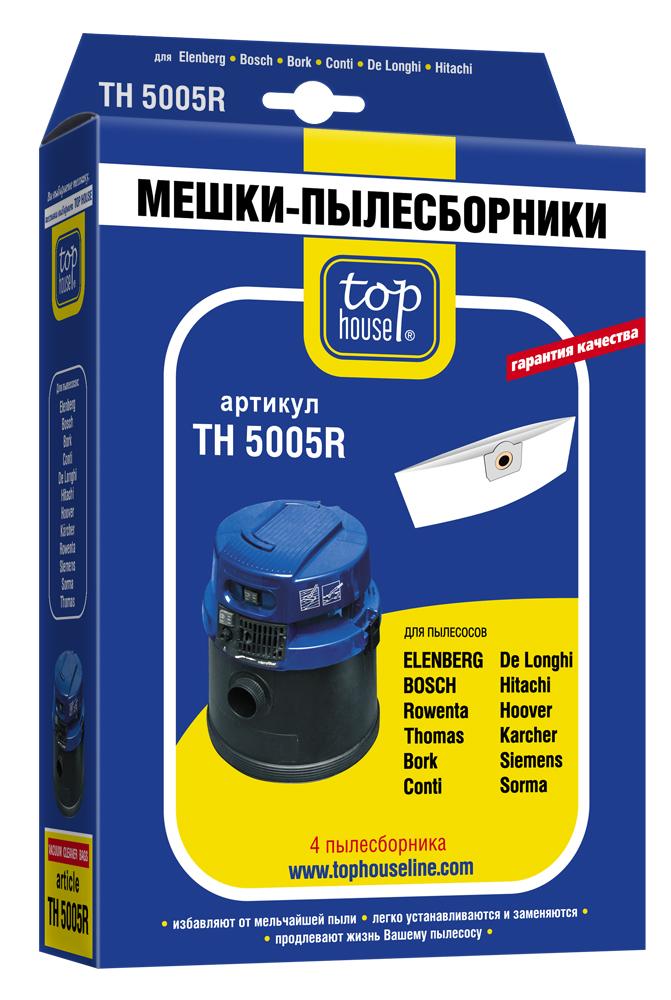 Мешок Top houseАксессуары для бытовых пылесосов<br>Тип: мешок,<br>Назначение: для ROWENTA, BOSCH, THOMAS<br>