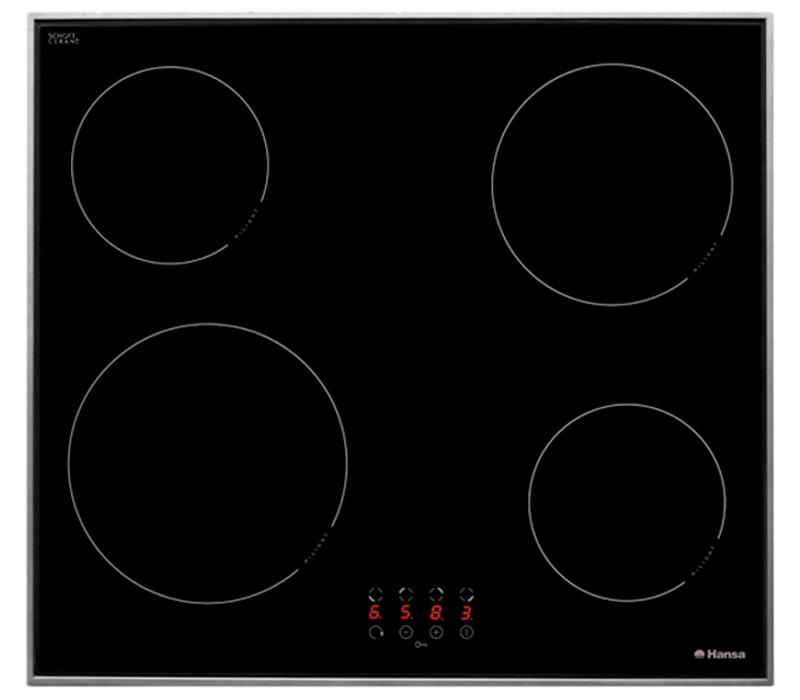 не Hansa BHC36233030 Стеклокерамичечкая включается плита