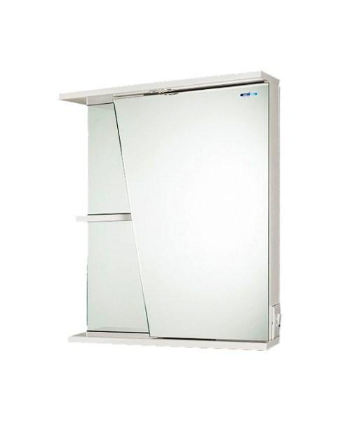 Шкаф с зеркалом AqualifeМебель для ванной комнаты<br>Тип: шкаф,<br>Тип установки мебели для ванной: подвесной,<br>Материал изготовления мебели для ванной: дсп,<br>Зеркало: есть,<br>Цвет мебели для ванной: белый<br>