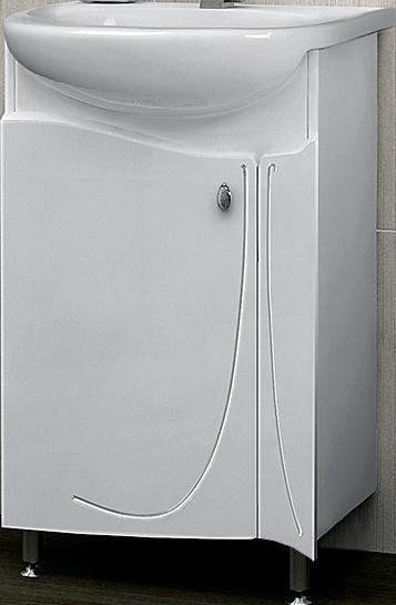 Раковина с тумбой AqualifeРаковины (умывальники)<br>Тип: раковина,<br>Назначение умывальника(раковины): для ванной,<br>Ширина: 550,<br>На ножках: есть,<br>С тумбой: есть,<br>Тип установки раковины: врезной,<br>Вес нетто: 28.5<br>