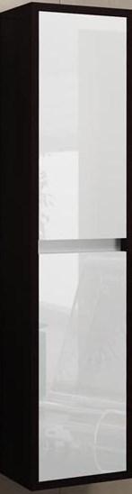 Пенал EdelformМебель для ванной комнаты<br>Тип: пенал,<br>Тип установки мебели для ванной: универсальный,<br>Материал изготовления мебели для ванной: стекло,<br>Цвет мебели для ванной: черно-белый,<br>Вес нетто: 41<br>