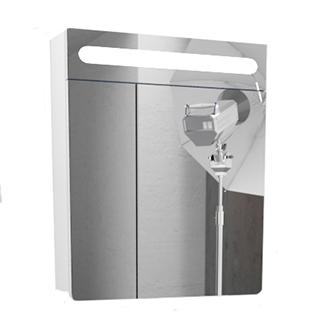 Шкаф с зеркалом Edelform Гласс-60