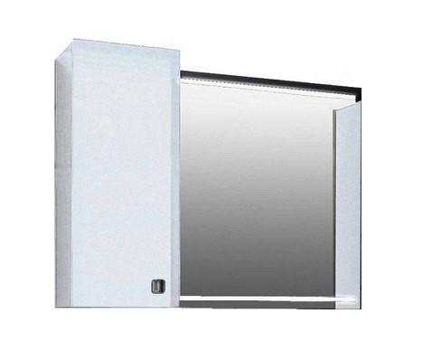 Шкаф с зеркалом Edelform Нота 90 белый