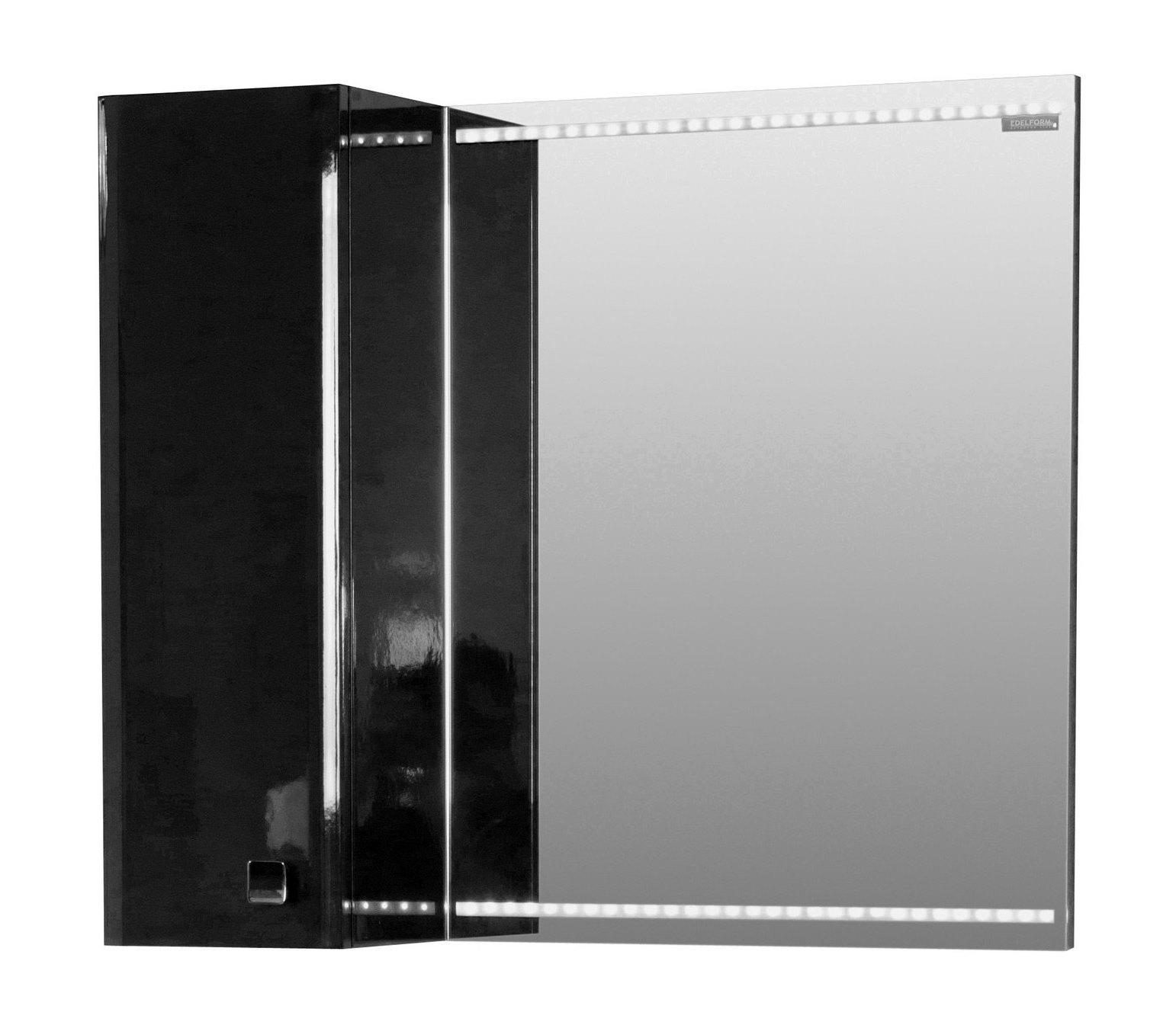Зеркальный шкаф Edelform Нота 90 черный