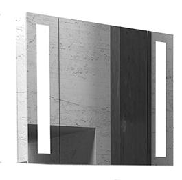 Шкаф с зеркалом Edelform Поинт 60 белый