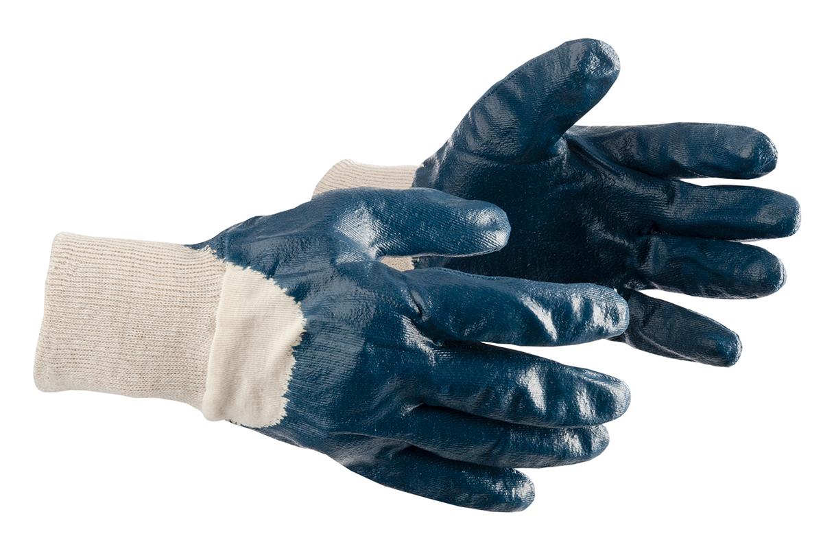 Перчатки нитриловые AmparoПерчатки и рукавицы<br>Тип: перчатки,<br>Тип перчаток: х/б,<br>Пол: унисекс,<br>Размер: 10 (XL),<br>Цвет: синий<br>
