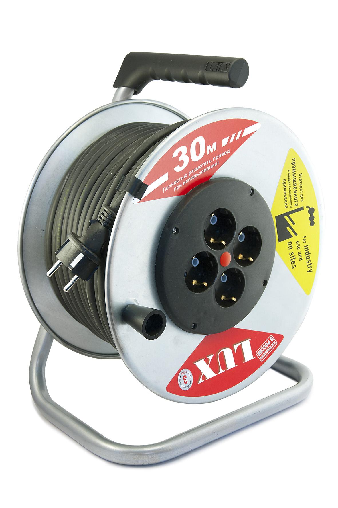 Удлинитель Lux 44130 к4-е-30 кг
