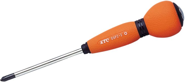 Отвертка крестовая KtcОтвертки<br>Тип наконечника: PH (крест),<br>Тип отвертки: стандартная,<br>Намагниченный наконечник: есть,<br>Длина (мм): 100,<br>Тип рукоятки: прямая<br>