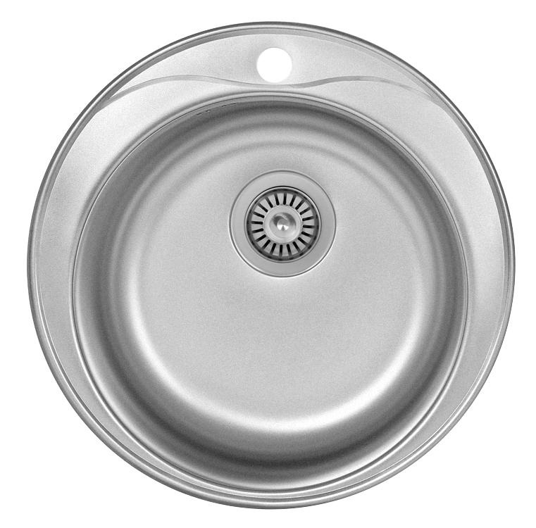 Мойка кухонная LexМойки кухонные<br>Тип установки кухонной мойки: врезной,<br>Материал изготовления кухонной мойки: нержавеющая сталь,<br>Отверстие под смеситель: нет,<br>Форма кухонной мойки: круглая,<br>Количество чаш кухонной мойки: одна чаша,<br>Ширина: 510,<br>Глубина: 180,<br>Цвет: сталь,<br>Страна происхождения: Китай,<br>Диаметр: 510,<br>Вес нетто: 1.7<br>