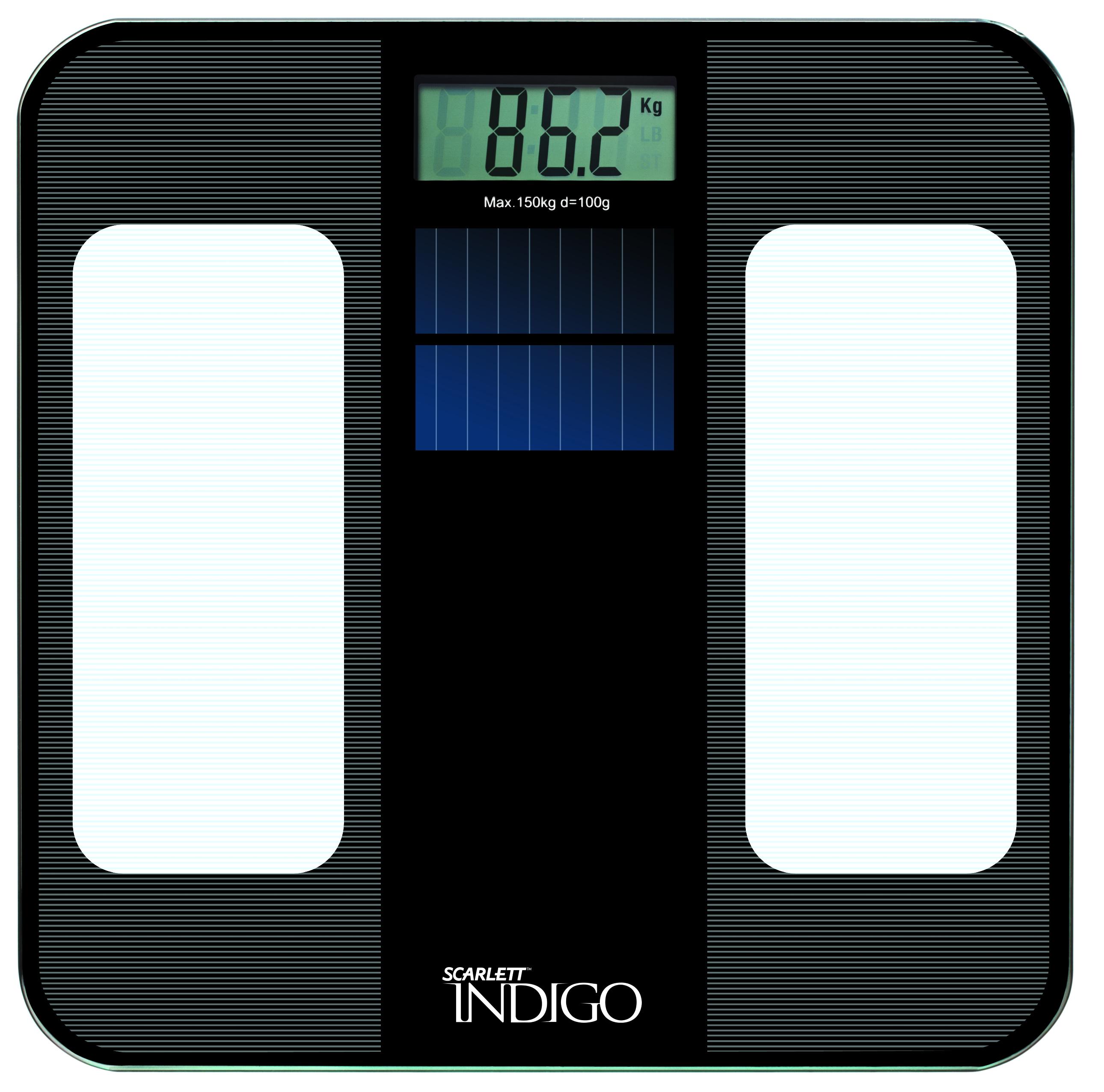 Весы напольные ScarlettВесы<br>Тип весов: напольные,<br>Тип: электронные,<br>Материал: стекло,<br>Источники питания: CR2032,<br>Максимальная нагрузка: 180,<br>Автоматическое включение/выключение: есть,<br>Единицы измерения: кг,<br>Индикация заряда: есть,<br>Индикатор перегрузки: есть<br>