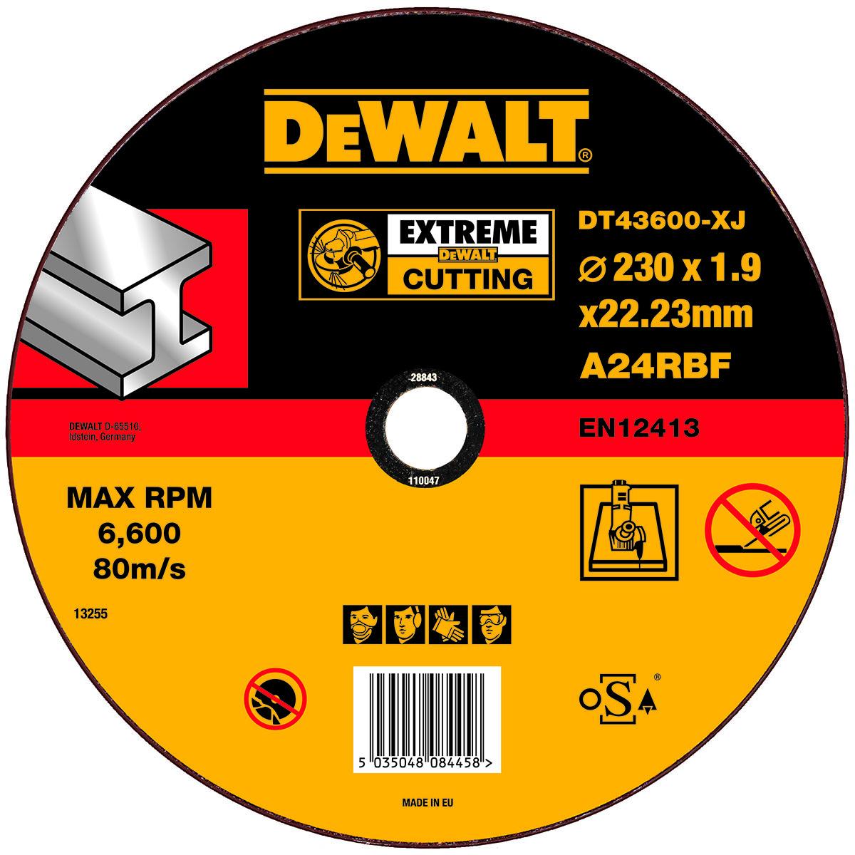Dt43600-xj, Круг отрезной