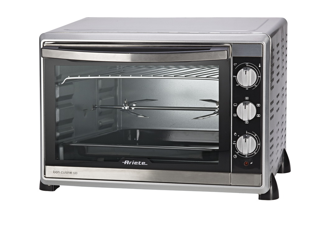 Духовка электрическая ArieteПлитки, духовки, грили, сковороды<br>Мощность: 2000,<br>Тип: электрическая духовка,<br>Температура: 230,<br>Нагревательный элемент: конвекционный,<br>Таймер: есть,<br>Внутренний объем: 52<br>