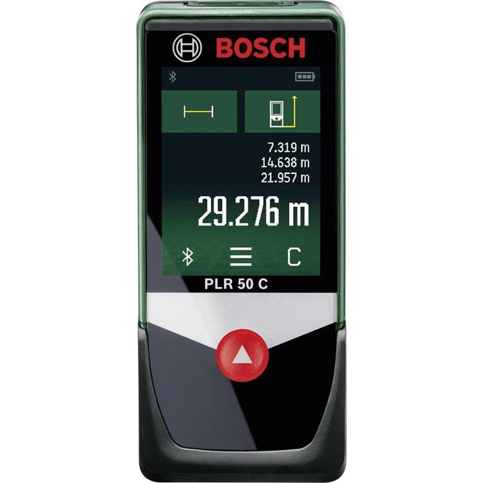 Дальномер BoschДальномеры<br>Дальность: 50, Точность: ±2.0мм, Тип: лазерный, Длина волны: 635, Класс лазера: 2, Время измерения: 0.5-4, Источники питания: AAA, BOSCH DIY: есть, Вес нетто: 0.132, Страна происхождения: Германия<br>
