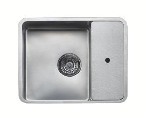 Мойка кухонная ReginoxМойки кухонные<br>Тип установки кухонной мойки: врезной,<br>Материал изготовления кухонной мойки: нержавеющая сталь,<br>Отверстие под смеситель: нет,<br>Форма кухонной мойки: прямоугольная,<br>Количество чаш кухонной мойки: одна чаша,<br>Длина (мм): 540,<br>Ширина: 440,<br>Глубина: 200,<br>Цвет: сталь,<br>Наличие крыла: есть,<br>Расположение крыла: справа,<br>Страна происхождения: Нидерланды,<br>Диаметр сливного отверстия: 3 1/2,<br>Вес нетто: 50.5<br>