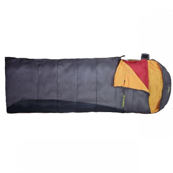Спальный мешок TalbergСпальные мешки<br>Тип спального мешка: одеяло, Сезон: лето, Максимальная комфортная температура: 20, Минимальная комфортная температура: Суперлегкий спальный мешок-одеяло с подголовником.<br>Утеплитель: 1х85 g/m2, Hollofibersilicon<br>Ткань внутренняя: TC Polycoton<br>Ткань внешняя: Polyester RipStop 210T<br>Вес: 920 г.<br>Размер упаковки: 29 x 17 см<br>Аксессуары: компрессионный мешок<br>Температура комфорт: +20 с<br>Т лимит комфорт: +9 с<br>Т экстремаль, Экстремальная температура: Суперлегкий спальный мешок-одеяло с подголовником.<br>Утеплитель: 1х85 g/m2, Hollofibersilicon<br>Ткань внутренняя: TC Polycoton<br>Ткань внешняя: Polyester RipStop 210T<br>Вес: 920 г.<br>Размер упаковки: 29 x 17 см<br>Аксессуары: компрессионный мешок<br>Температура комфорт: +20 с<br>Т лимит комфорт: +9 с<br>Т экстремаль, Материал: полиэстер, Внутреннее покрытие: хлопок с синтетикой, Материал наполнителя: холлофайбер-силикон, Количество мест: 1<br>