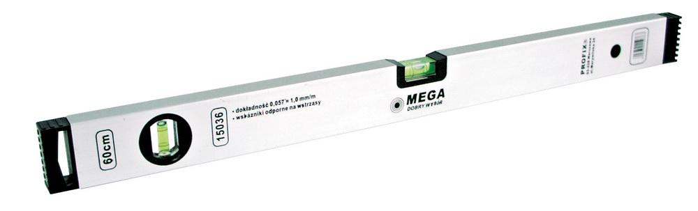 Уровень MegaУровни пузырьковые<br>Длина (мм): 600,<br>Тип: пузырьковый уровень<br>