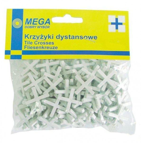 Крестики для кафеля PolishКрестики для кафеля<br>Тип: крестики,<br>Количество в упаковке: 100,<br>Толщина: 4<br>
