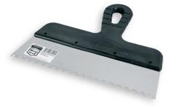 Шпатель XtopШпатели<br>Материал лезвия: сталь,<br>Зубцы: есть,<br>Ширина: 150,<br>Длина (мм): 21,<br>Вес нетто: 0.1<br>