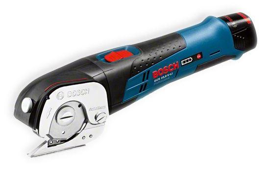 Ножницы BoschНожницы<br>Питание от аккумулятора: есть,<br>Аккумулятор: 10.8,<br>Тип аккумулятора: LiION,<br>Аккумуляторов в комплекте: без акк.,<br>Тип ножниц: прочие,<br>BOSCH Professional: есть,<br>Поставляется в: коробке<br>